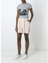 Stella McCartney ruffled hem shorts