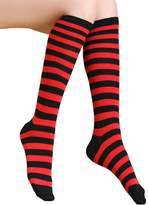 Aivtalk Women's Striped Knee High Socks Over the Calf Socks