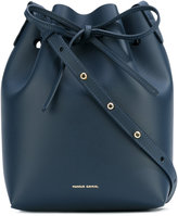 Mansur Gavriel drawstring tote - women - Leather - One Size