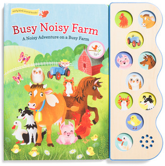 Busy Noisy 10 Button Sound Board Book