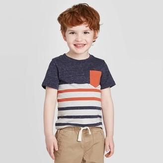 Cat & Jack Toddler Boys' Stripe T-Shirt - Cat & JackTM
