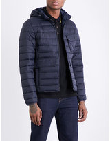 Barbour Ouston Hooded Quilted Shell Jacket