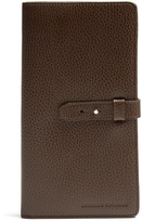 Brunello Cucinelli Grained-leather travel wallet