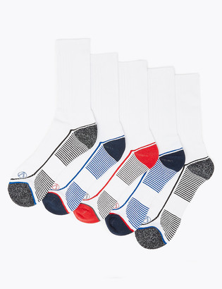 Marks and Spencer 5 Pack Cool & Fresh Sport Socks