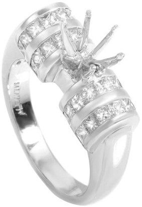 Diamond Select Cuts 18K 1.30 Ct. Tw. Diamond Ring Set
