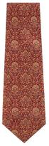 Chanel Vintage Burgundy Silk Tie