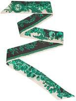 Fendi Wrappy floral scarf
