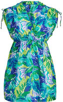 Ralph Lauren Woman Tropical-Print Cover-Up