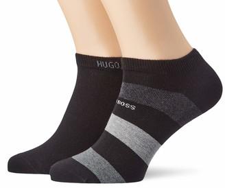 HUGO BOSS Men's 2p As Stripe Cc Liner Socks