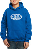 LOS ANGELES POP ART Los Angeles Pop Art The Verse John 3:16 Hoodie-Big Kid Boys