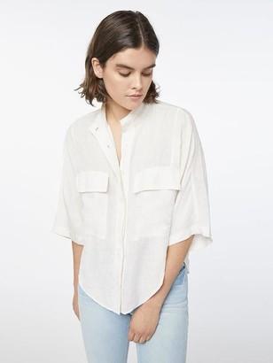 Frame Short Sleeve Clean Safari Shirt