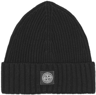 Stone Island Junior Wool-blend beanie