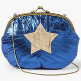 Becksöndergaard Granny Star Clutch Bag, Medieval Blue