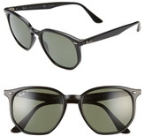 Ray-Ban 54mm Polarized Round Sunglasses
