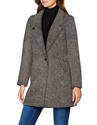 Scotch & Soda Maison Women's Bonded Wool Jacket in Checks and Solids Jacket,X