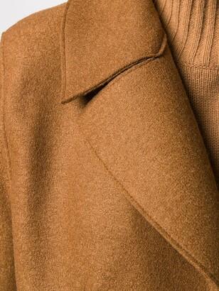 Harris Wharf London Wrap-Around Virgin-Wool Coat