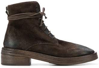 Marsèll distressed style lace-up boots