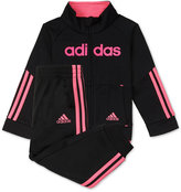 adidas 2-Pc. Jacket and Jogger Pants Set, Toddler and Little Girls (2T-6X)