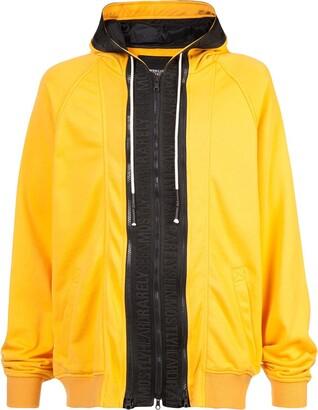 Mostly Heard Rarely Seen Zipped Hooded Sweatshirt