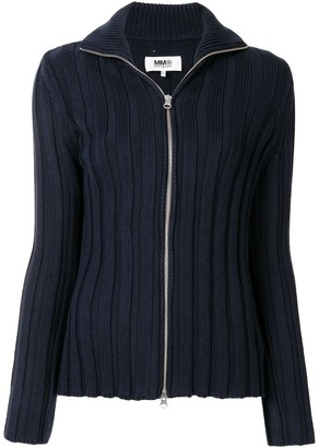 MM6 MAISON MARGIELA Embroidered Cotton Cardigan