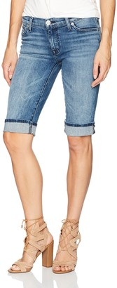 Hudson Women's Amelia Cuffed Knee Jean Short