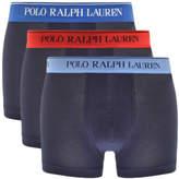 Ralph Lauren Underwear 3 Pack Boxer Shorts Navy