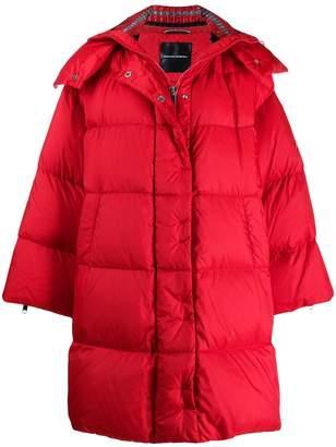 Ermanno Scervino detachable hooded coat