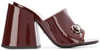 Gucci High-Heeled Slides