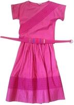 Balenciaga Linen mid-length skirt