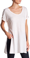Three Dots Laverne Slit Side Tunic