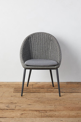 Anthropologie Canyon Curve Aluminum + Woven Rope Side Chair By in Assorted Size ALL
