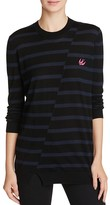McQ by Alexander McQueen Distorted Stripe Sweater