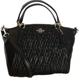 Coach Kelsey Satchel in Gathered Twist Leather F37081