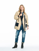 Scotch & Soda Teddy Cocoon Coat