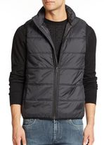 English Laundry Quilted Microfiber Vest
