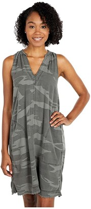Splendid Gemma Print Dress (Camo) Women's Clothing