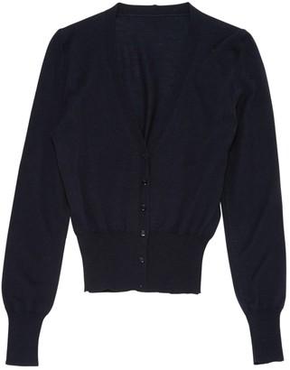 Alaia Navy Wool Knitwear