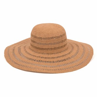 Ale By Alessandra Women's Ventana Sunhat in Fawn Adjustable