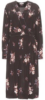 Nina Ricci Floral-printed Silk Dress