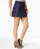 American Rag Crocheted Faux-Suede A-Line Skirt, Only at Macy's