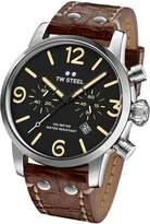 TW Steel Men's MS4 Maverick Analog Display Quartz Brown Watch
