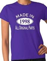Print4u 18th Birthday Made In 1999 Gift Ladies T-Shirt Ladies Fit Large