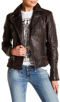 Affliction Wings Earned Faux Leather Jacket
