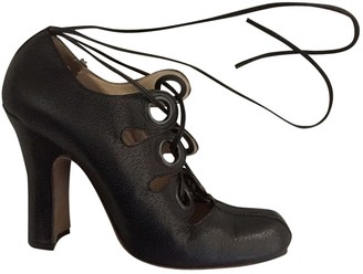 Vivienne Westwood Black Leather Heels