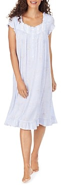 Eileen West Ruffle Trim Waltz Nightgown