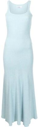ANNA QUAN Jana rib-knit sleeveless dress