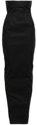 Rick Owens Stretch-cotton Maxi Skirt