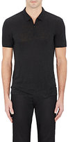 John Varvatos Men's Linen Polo Shirt