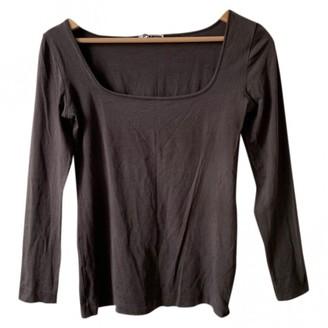 Jil Sander Grey Top for Women Vintage