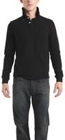 Simon Spurr Spurr by Long Sleeve Polo in Black